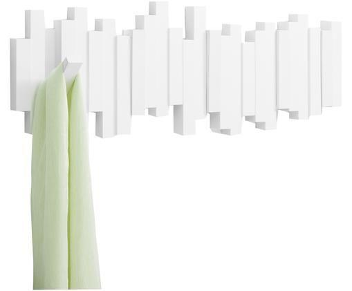 Garderobenhaken Sticks, Weiß