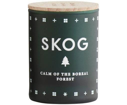 Świeca zapachowa Skog (igły sosny), Butelkowy zielony