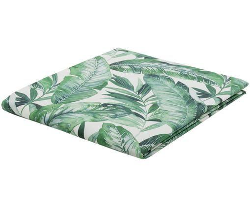 Obrus Plant, Biały, zielony