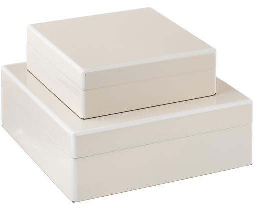 Set scatole portagioielli Stambuli, 2 pz., Beige