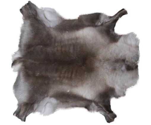 Dywan ze skóry renifera Marlen, Odcienie brązowego, beżowy