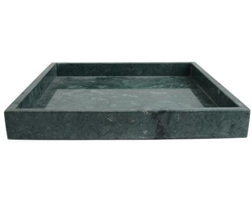 Decoratief marmeren dienblad Ciaran, Gemarmerd groen