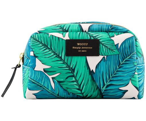 Make-up tasje Tropical, Groen