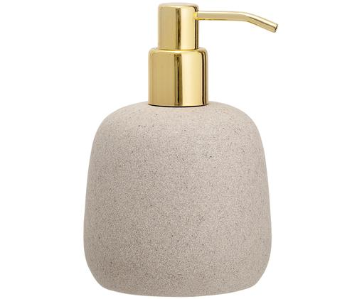 Dozownik do mydła Luis, Beżowy, odcienie złotego