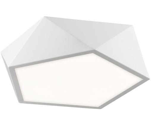 Plafonnier à LED Levi, Abat-jour: blanc, mat Tamiseur: blanc
