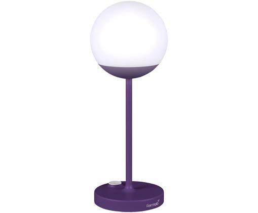 Mobile LED Außenleuchte Mooon, Lila
