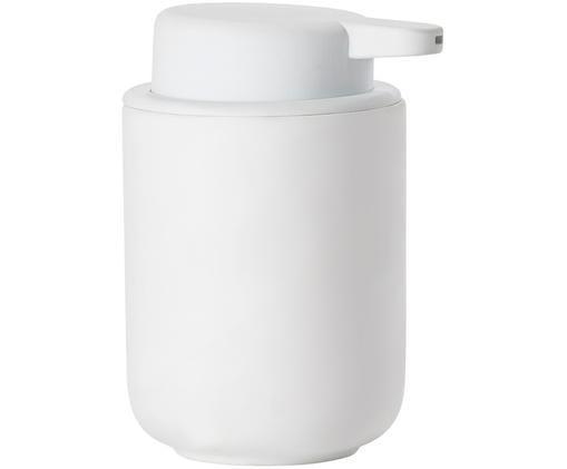 Dozownik do mydła Omega, Biały, matowy