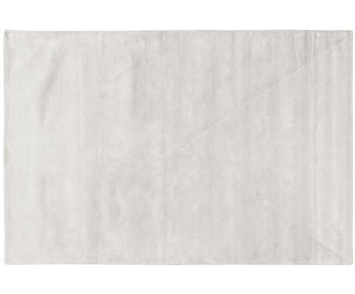Ręcznie tuftowany dywan z wiskozy Linda, Kremowy