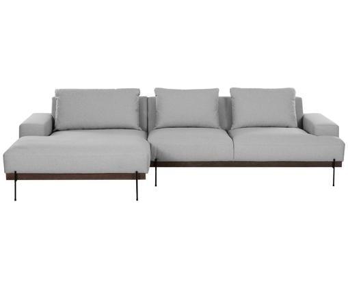 Canapé d'angleBrooks, Gris