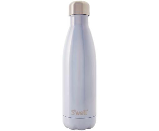 Drinkfles Bottle, Lichtblauw, edelstaalkleurig