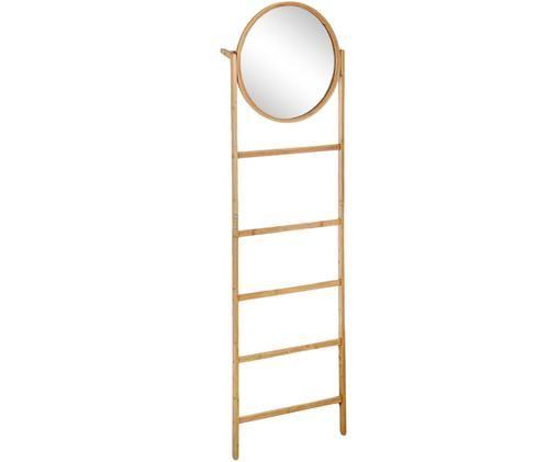 Scaletta Audrey con specchio, Marrone