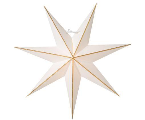 Kerstster Linje, Wit, goudkleurig