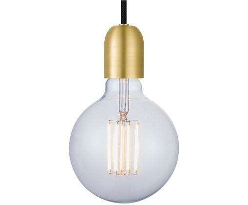 Set de lámpara de techo Cable, Latón, negro