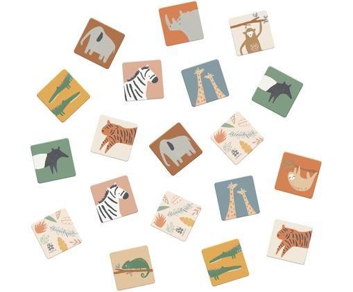 Memory-Spiel Wildlife, 30-tlg., Mehrfarbig