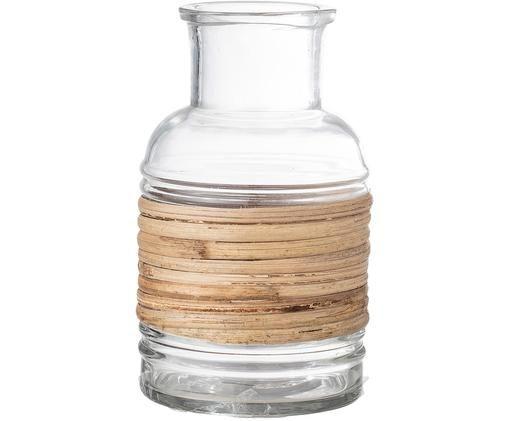Wazon Geranium, Transparentny, jasny brązowy
