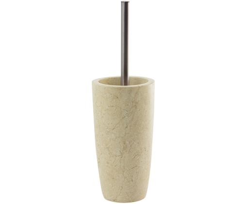 Marmor-Toilettenb, Beige, Stahl