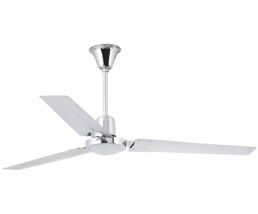 Ventilateur de plafond Indus, Chrome