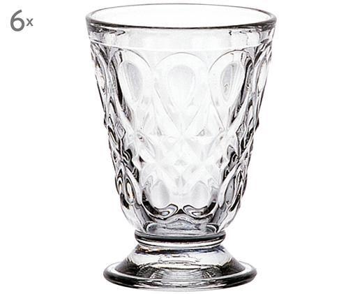 Mug Lyonnais, 6pièces, Transparent