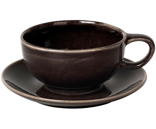 Tazza fatta a mano Nordic Coal, Marrone scuro