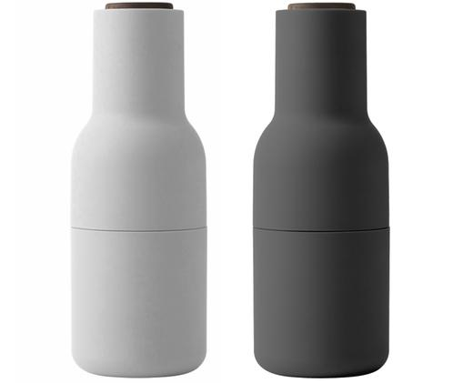 Set macinaspezie Bottle Grinder, 2 pz., Antracite, bianco