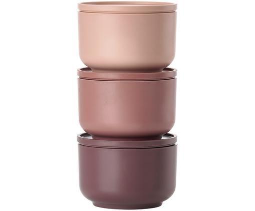 Mini set scatole custodia Peili, 3 pz., Pallido rosa (nude)