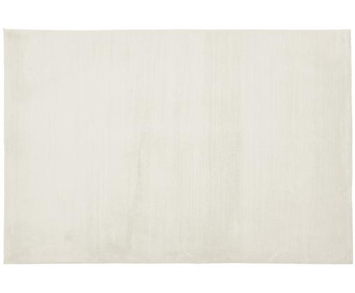 Alfombra de piel sintética Rabea, Blanco crema