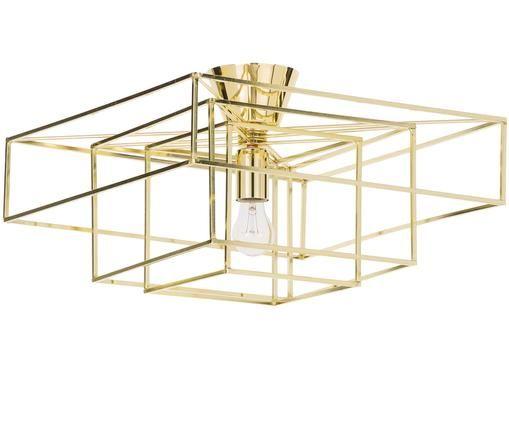 Lampa sufitowa Cube, Odcienie złotego