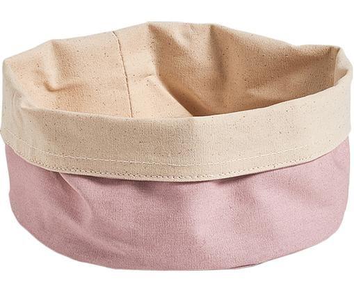 Corbeille à pain Cozy, Rose, beige