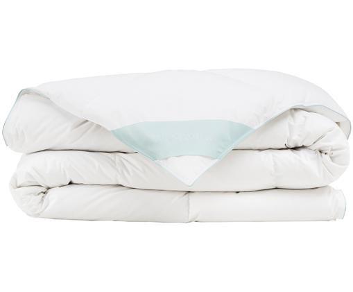 Puchowa kołdra kasetowa Comfort, średnio ciepła, Biały