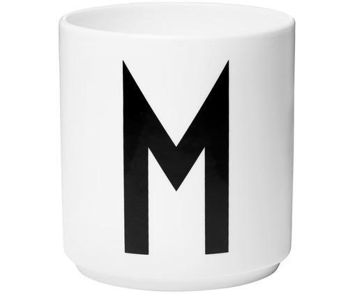 Mug M, Blanc, noir