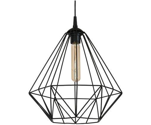 Hanglamp Basket, Zwart