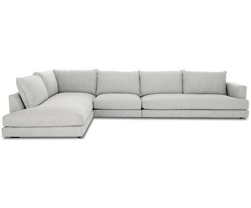 Canapé d'angle XLTribeca, Revêtement: gris Pieds: noir