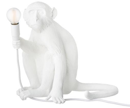 LED buitentafellamp Monkey, Wit