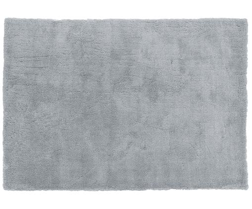 Tapis duveteux Leighton à poils longs gris foncé, Gris foncé