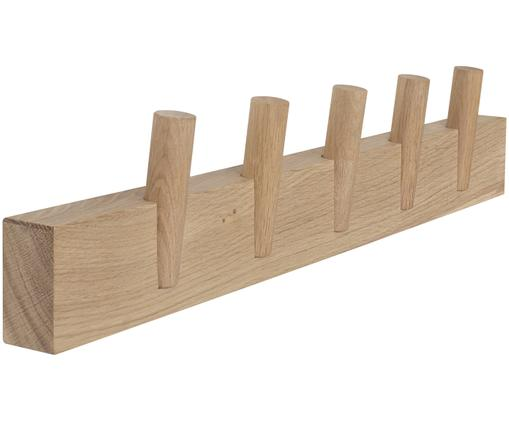 Perchero de pared Steqs, Roble