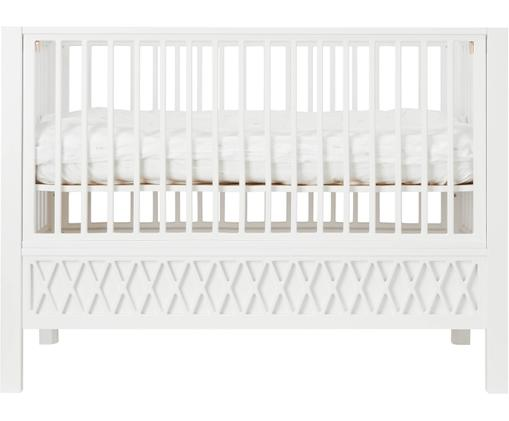 Baby-Bett Harlequin, Weiß