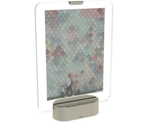 Cornice fotografica a LED Glo, Color nichel