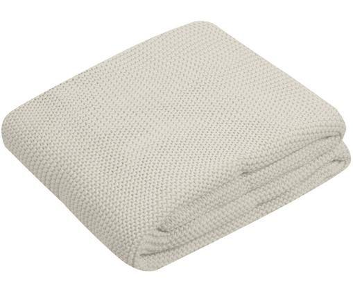 Plaid in cucitura a maglia Adalyn, Beige