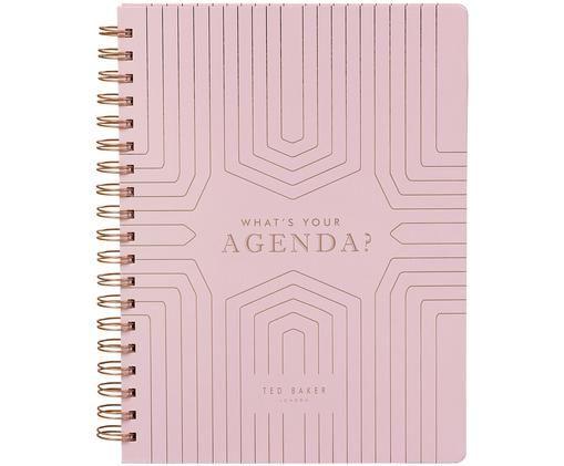Calendario settimanale Agenda, Rosa