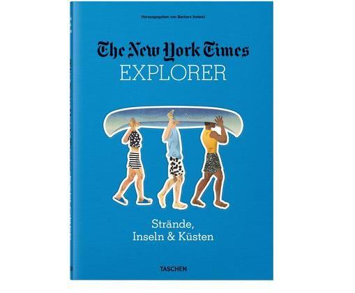Bildband NYT Explorer - Strände, Inseln & Küsten, Blau, Mehrfarbig