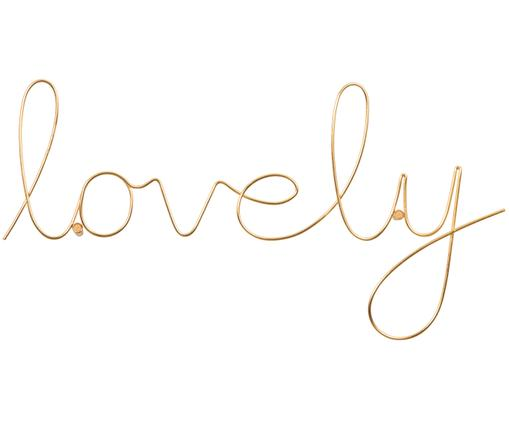 Dekoracja ścienna Lovely, Odcienie złotego