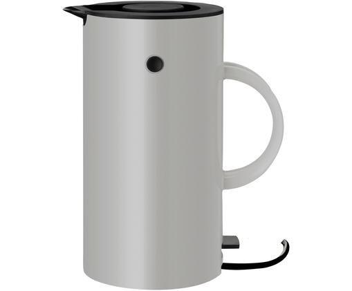 Wasserkocher EM77, Grigio chiaro, nero