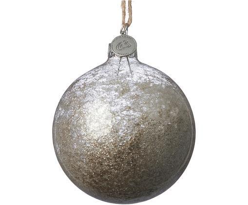 Bolas de Navidad Velma, 2uds., Dorado, transparente