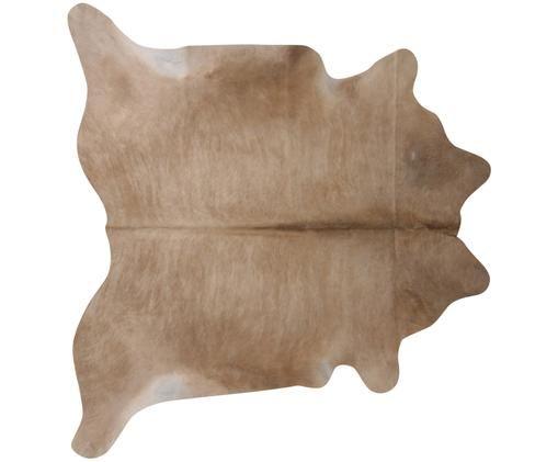 Alfombra de piel bovina Taurus, Beige