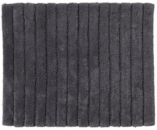 Flauschiger Badteppich Board, Graphitgrau