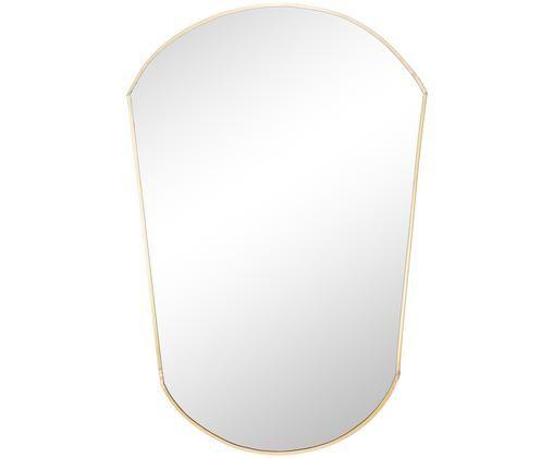 Wandspiegel Oval, Goldfarben