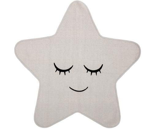 Kinder-Teppich Star, Weiß