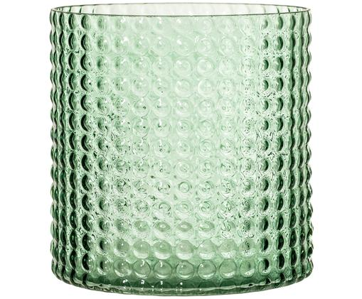 Vaso Liv, Verde, leggermente trasparente