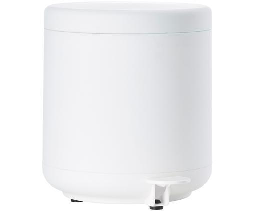 Abfalleimer Ume mit Pedal-Funktion, Weiß, matt