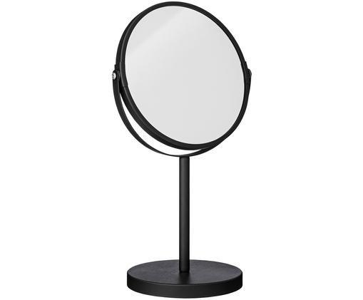 Specchio cosmetico Classic con ingrandimento, Cornice: nero Superficie dello specchio: lastra di vetro